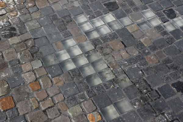 Meinstein Neukoelln - Finised cobble stones, 2012