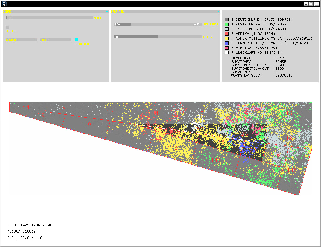 Meinstein Neukoelln - Screenshot Software, 2012